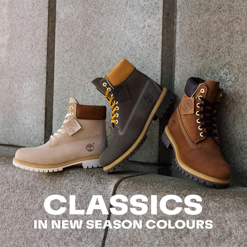 Classics in New Season Colours