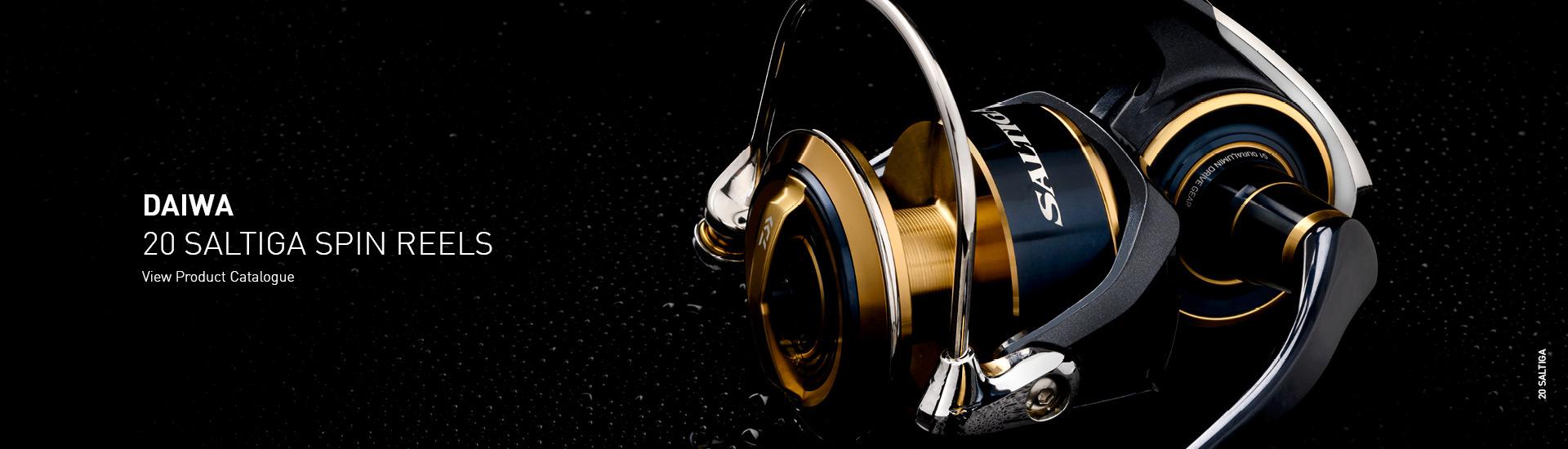 Daiwa 20 Saltiga Spinning Reel Hero Image LG
