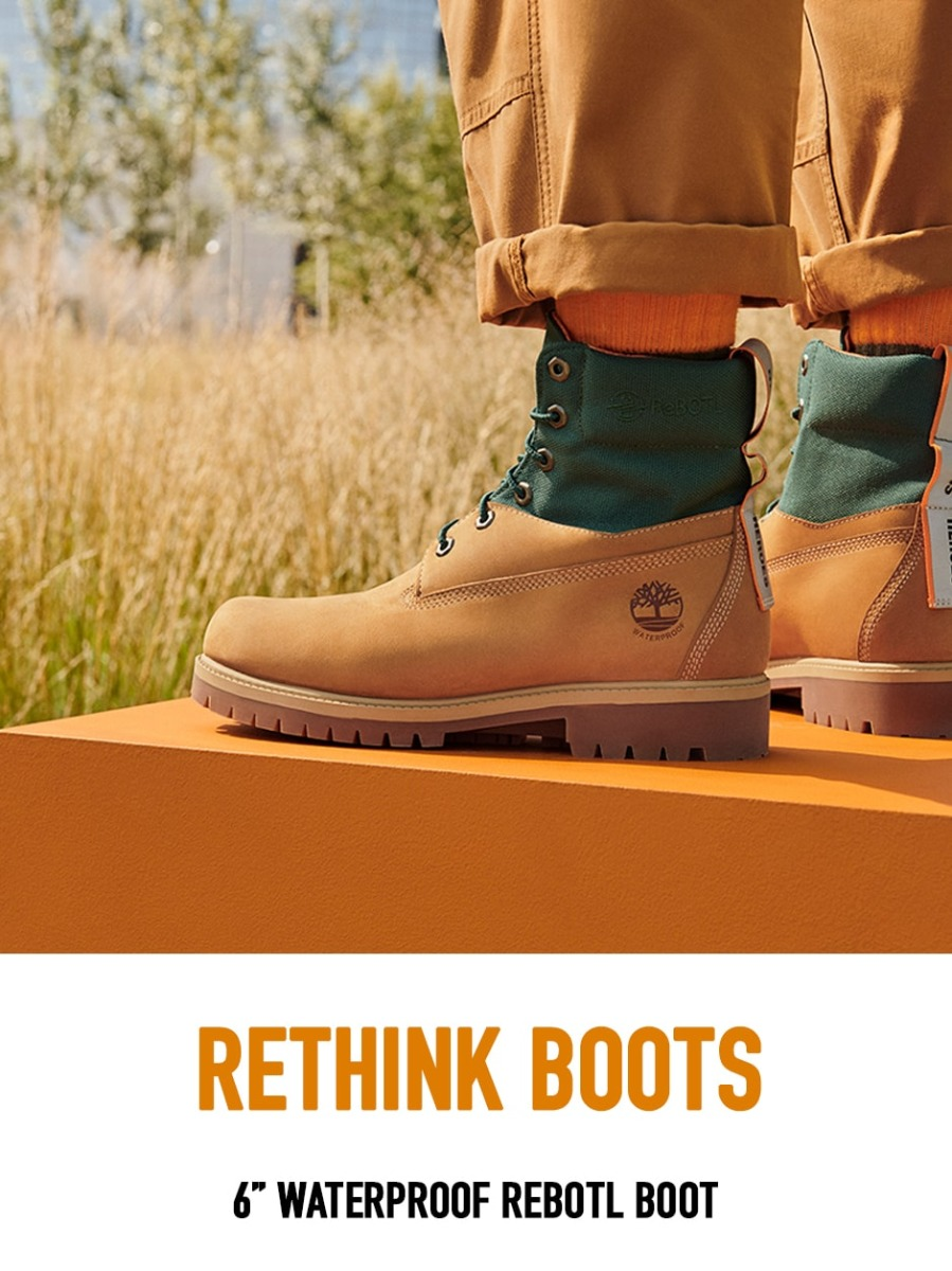 Rethink Boots. 6-inch Waterproof ReBOTL Boot.