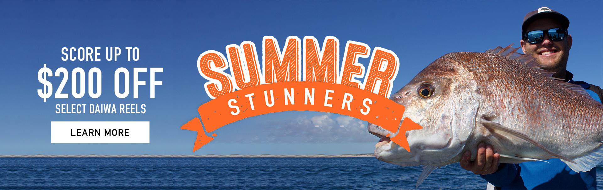 Summer Stunner Deals Daiwa Fishing Reels