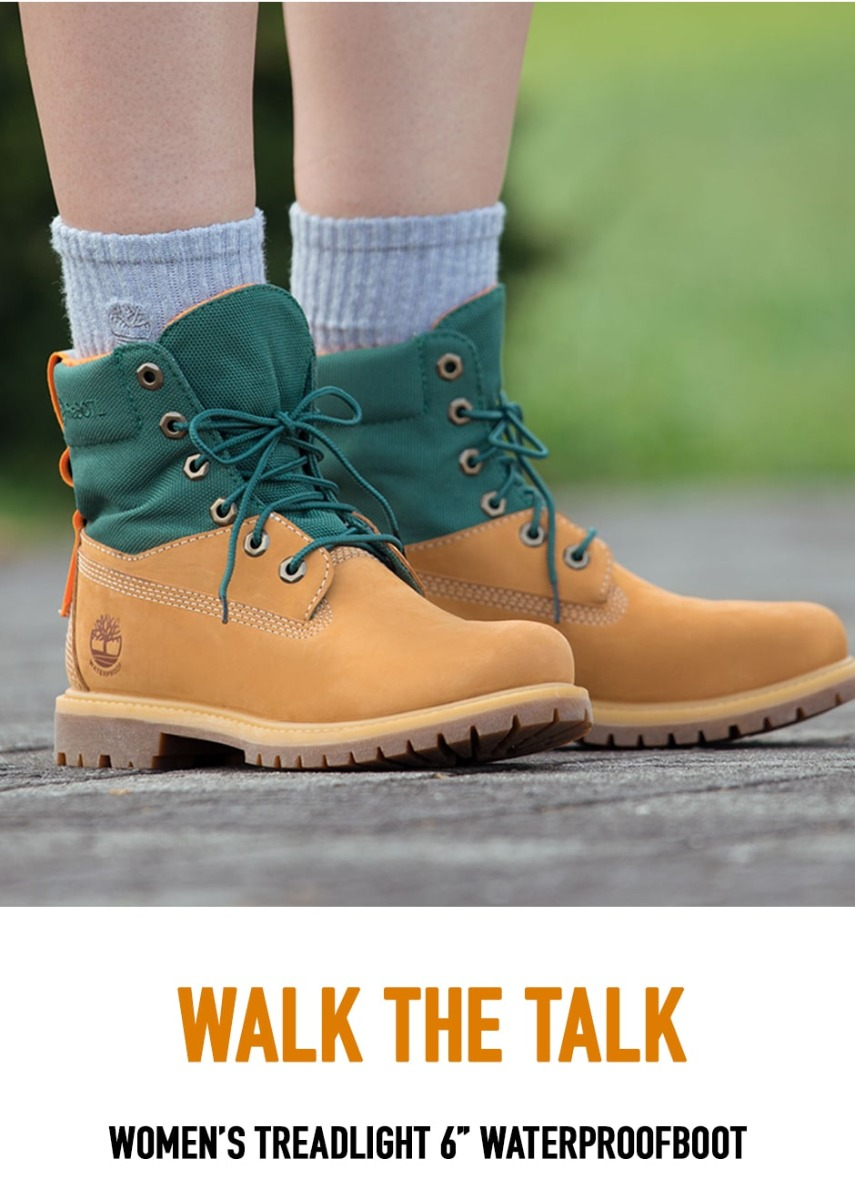Walk The Talk. Womens Treadlight 6-inch Waterproof Boot.